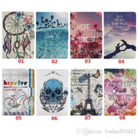 acer wind - For Apple IPAD MINI For Samsung T110 T550 T350 KickStand Cover with Smart Flip Wallet Simple Cover Hot air balloon Wind chimes tower Case