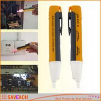 Wholesale New Detector Sensor Tester Pen Electric Socket Wall AC Power Outlet Voltage LED light indicator V