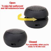 Wholesale Universal mm Plug Mini Hamburger Speaker For iPhone S For iPad For Samsung Galaxy S3 S4 For HTC For