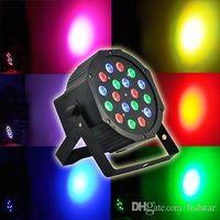 Wholesale DMX512 Led Par Lights Sound Activated Channels AC V W LEDs RGB Stage Lighting With Professional For Party KTV Disco DJ