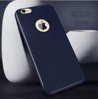 gros chaud cas de téléphone mobile pour l'iPhone 6 cas 6s TPU silicone Bonbons Caoutchouc Couleur Couverture souple