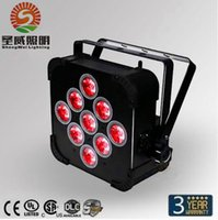 auto events - Hot Sale W in1 RGBAW Battery Power Wireless LED Par Light LED Slim Par Can For Event Disco Party X
