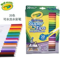 Wholesale Crayola Super Tips Washable Markers Draw Thick Washability you can trust coloring books for kids