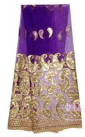 gorgeous fabrics - 8 Colors good quality African ladies like French lace fabric with gorgeous patterns M170