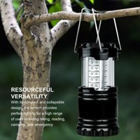 Wholesale 30 LED Portable Collapsible LED Outdoor Camping Lantern Flashlights For Hiking Camping Emergencies Outages LE CL10