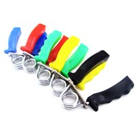 Wholesale pc A type gripper hand expander hand grip fitness pinch hand gripper exerciser equipment fat grip trainer tools