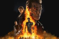 american clarke - Terminator Genisys Science Fiction Movie Film Poster Arnold Schwarzenegger Emilia Clarke Fabric x36 inch Art Silk Poster