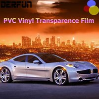 auto vinyl paint - Rhino Skin Sticker Car Full Body Paint Protection Film PVC Vinyl Clear Transparence Film Car Auto Decal m Roll