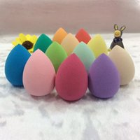 beauty army - Makeup Foundation Sponge Blender Blending Puff Flawless Powder Smooth Beauty Sponge Blender Puff Water Droplets Soft Makeup Sponge