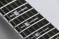 Wholesale Top Quality frets Ebony Fretboard Guitar Tony Iommi Signature SG Electric Guitar Black Lacquer