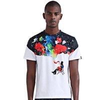 anti smoker - Funny T Shirts Creative Cool Smoker Print Short Sleeve Slim Fit Mens T Shirts Casual