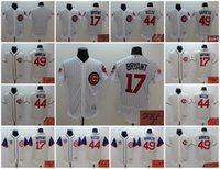 baseball signs - Elite Chicago Cubs High Quality Customize Name Kris Bryant Anthony Rizzo Jake Arrieta Signed Signature Jersey