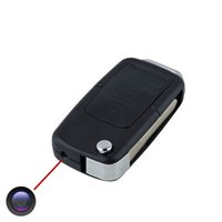 audio keychain - 10pcs free ship Car KeyChain Camera Mini Portable Nanny Spy Cam Hidden cameras Espia Micro DV DVR Video Audio Recorder Security Camcorders