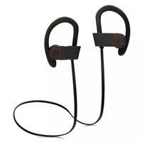 Wholesale Q6 Wireless Bluetooth Headphones Stereo Bass Earphone Power Sound Sports Headsets HIFI Earphones Sweatproof Handsfree With Mic