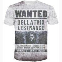 bellatrix lestrange - The wizard Bellatrix Lestrange T Shirt vintage letter print d t shirt harajuku punk hip hop tops tees women men casual t shirts
