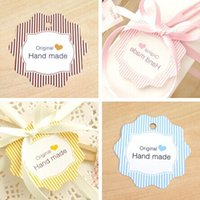 Wholesale 100 quot Original Hand Made quot Gift Decor Hang Tag Packaging Labels CH