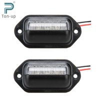 aircraft trailer - 2x V Bright LEDs License Plate Light Lamp Bulbs Number Plate Light for Motorcycle Boats Aircraft Automotive Trailer RV Truck