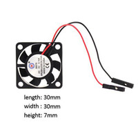 Wholesale DC V Brushless CPU Cooling Fan with Screws for Raspberry Pi Pi Model B RPI B
