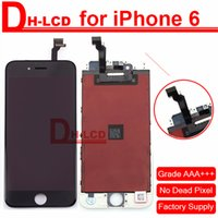 Wholesale 100 Guaranteed Test LCD For black iPhone LCD Display With Touch Screen Digitizer Assembly For iPhone quot LCD