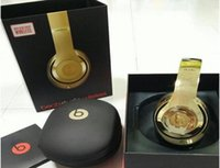 Wholesale Drop Shipping Used Beats Studio Wireless Headphones Noise Cancel Headphones Refurbished Headset with seal retail box Free DHL Shipping