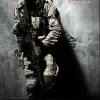 Wholesale ALL WIN Wararmor Tactical Military ARMY US Navy Seal DIGI2 AOR1 Combat Set Coat And Trouser AIRSOFT COSPLAY