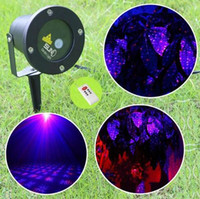 Wholesale Outdoor elf Laser Christmas Lights Waterproof IP65 Red Blue Moving Twinkle Firefly Light Projector Holiday Home Garden Decorations