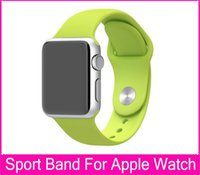 aluminum silicone free - Luxury For Apple Watch Sport Band mm Silicone Fluoroelastomer With Aluminum Case For iwatch Fashion Watchbands