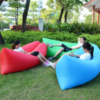 2016 Nouvelles Hot Fashion Loisirs Commodité Européenne Gonflable Lazy Sleeping Bag Folding Sofa Air Pratique à l'intérieur et à l'extérieur de la plage
