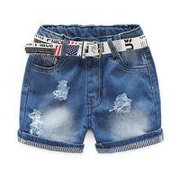 baby girl buy - Motherbear Little Girls Clothing Baby Kids Shorts Fashion Girls Denim Pants Hot Girl Jeans Must Buy Children Clothes Short Trousers
