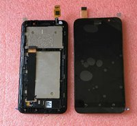 asus lcd tv - LCD Screen display touch Digitizer with frame For quot Asus ZenFone Go TV TD LTE ZB551KL X013D Bblack color