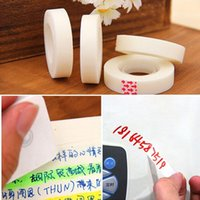 Wholesale Invisible Adhesive tape masking tape Wedding car Decorative stickers Stationery Scrapbooking sticky Non trace tape Can write Erasable tape