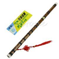 bamboo musical instrument - B39 Popular Handmade Chinese Traditional Musical Instrument Bamboo Flute in D Key