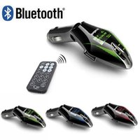 Wholesale Bluetooth Car Mp3 Player FM Transmitter Modulator LCD Screen Car Audio MP3 Music Player USB TF For iPhone S Samsung S7