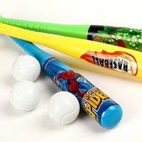 Wholesale New children s outdoor toys soft baseball Hot Sale Baseball Bat Top Quality Plastic plastic Softball Bat Outdoor Sports Game