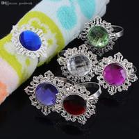 Wholesale Napkin Rings Serviette Holder Wedding Party Banquet Dinner Decor Favor Napkin Ring Table Decoration