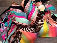Wholesale Brand Underwear Vs Secret Women Bra Set Female Sexy Seamless Bra Panty Set Plus Size Fashion Push Up Bra Lingerie B B B