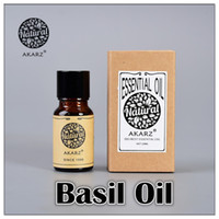 basil oil - AKZRZ Famous Brand Pure Natural Aromatherapy Basil Oil Improve Spirit Stabilization Effect Firming Skin Oil Balance Y057