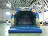 baby inflatable bouncers - Baby Moonwalks Inflatable bouncers Sponge Bob Funny inflatable bouncer for kids party