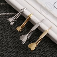 Wholesale 100PCS LJJH1366 Heart arrows shape Valentines Day Love Cupid Gift Tie Clip Wedding party Tie Clips