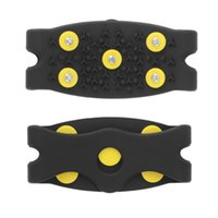 Wholesale New Fashion Anti Slip Snow Ice Climbing Spikes Grips Crampon Cleats Stud Shoes Cover