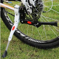 Wholesale Hot Sale New Arrival Adjustable Aluminum Bike Bicycle Side Stick Stand Kickstand Accessories Black White