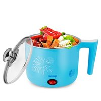 Cheap Mini cooker pot electric skillet electric heating cup instant noodles pot 800w