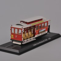 Wholesale Atlas Scale Cable Car Bus Tram United Railroads Ferries Cliff Diecast Model Toys For Kid Gift F
