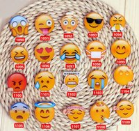 Plastic Stocked  2016 novelty cartoon emoji face pin badge cute cry smoking expressions mini wechat emoji badge for bags