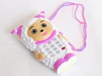 animal cell puzzle - Baby children call Cell phone toy Animal toy phone Music button puzzle