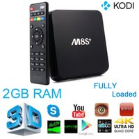 Wholesale M8S Plus M8S Android TV Box Amlogic S812 Quad Core G G Wifi GB GB H HEVC Gigabit Lan Bluetooth KODI