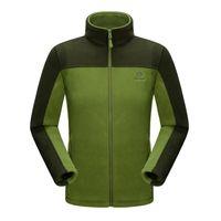Wholesale Windproof Outdoor Sport Jackets Superfine New Style Winter Men Anti static Outdoor Camping Jackets Polartec Warm Fleece Camping Jackets