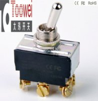 Wholesale 20PCS M12 A V DPDT Toggle switch ON OFF ON T6023W switch repeater switch instrument switch instrument