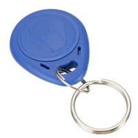Wholesale 50pcs Khz RFID Writable Rewrite Proximity ID Token Tag Keyfob Card for ID Door Access card copier