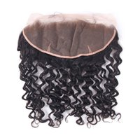 Wholesale 2016 Lace frontal closure human hair with baby hair brazilian hair full lace frontal closure